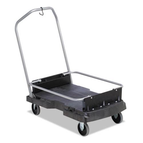 Rubbermaid Ice-Only Cart, 500-lb Cap, 21 2/5w x 39 1/10d x 15h, Black (RCP 9F55 BLA)