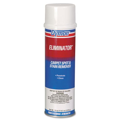 Dymon Eliminator Carpet Spot & Stain Remover, 18oz, Aerosol, 12/Carton (DYM 10620)