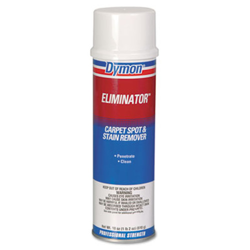 Dymon Eliminator Carpet Spot & Stain Remover, 18oz, Aerosol, 12/Carton (DYM 10620)
