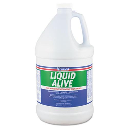 Dymon LIQUID ALIVE Enzyme Producing Bacteria, 1gal, Bottle, 4/Carton (DYM 23301)