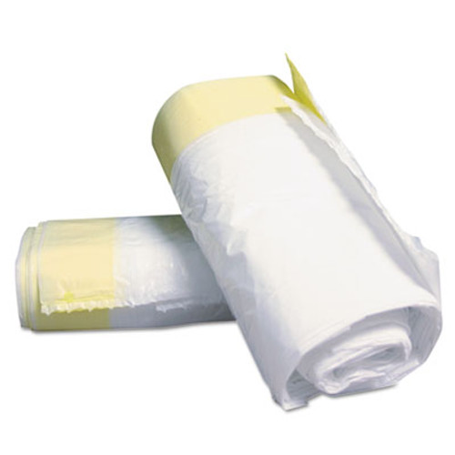 Rubbermaid Sanitary Liner, 3gal, 16 1/2w x 6 1/10d x 19 3/10h, WE, 15/Roll, 25 Rolls/Carton (RCP 750443)