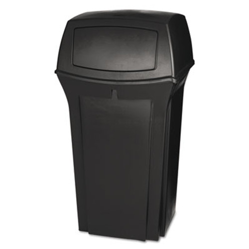 Rubbermaid Ranger Fire-Safe Container, Square, Structural Foam, 35 gal, Brown (RCP 8430-88 BRO)