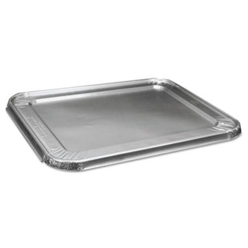 Boardwalk Half Size Steam Table Pan Lid For Deep Pans, Aluminum, 100/Case (BWK LIDSTEAMHF)