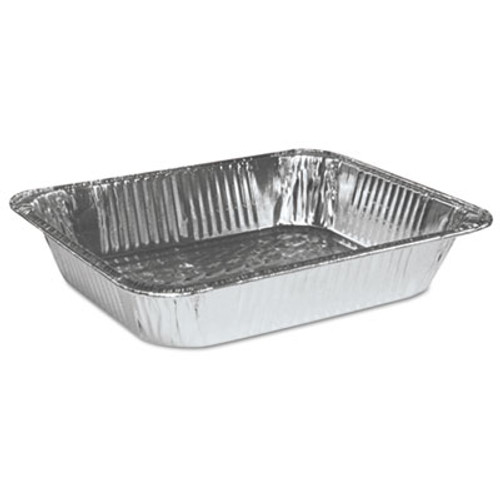 Boardwalk Aluminum Pan, Half-Size, Steam Table, Deep, 100/Carton (BWK STEAMHFDP)