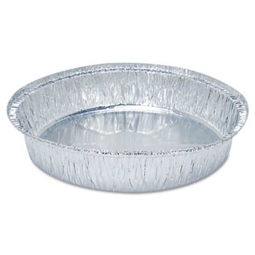 Boardwalk Round Aluminum To-Go Containers, 500/Carton (BWK ROUND9)
