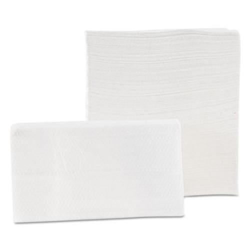 Morcon Paper Tall-Fold Napkins, 1-Ply, 7 x 13 1/2, White, 500/Pack, 20 Packs/Carton (MOR D20500)