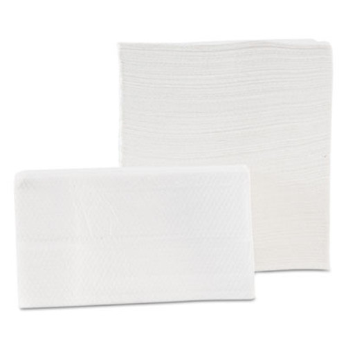 Morcon Paper Tall-Fold Napkins, 1-Ply, 7 x 13 1/2, White, 500/Pack, 20 Packs/Carton (MOR D20500)