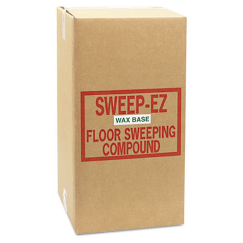 Sorb-All Wax-Based Sweeping Compound, 50lbs, Box (SOR 50WAX)