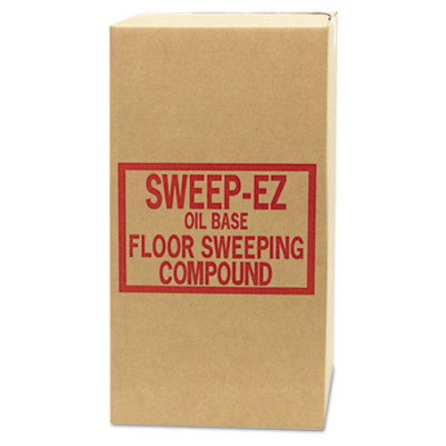 Sorb-All Oil-Based Sweeping Compound, Grit-Free, 50lbs, Box (SOR 50RED)