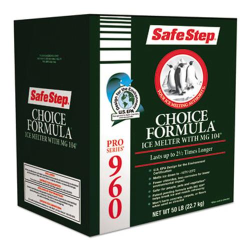 Safe Step Pro Series 960 Choice Formula Ice Melt, 50lb Box, 48/Carton (ICE SS56961)
