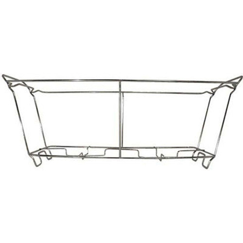 Adcraft Wire Chafer Frame, 23w x 12d x 8h, Aluminum (ADCWCSS)