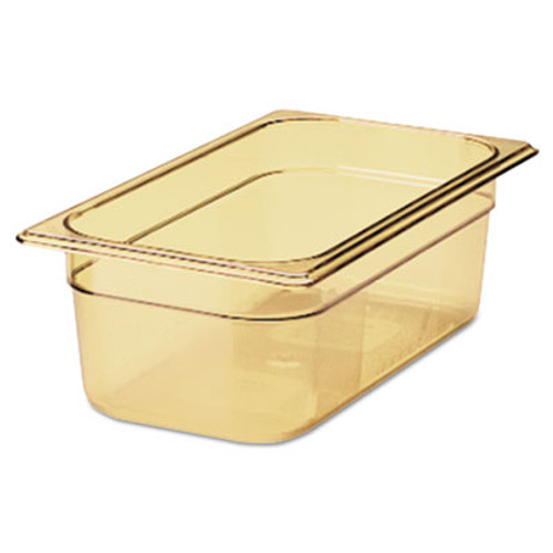 Rubbermaid Hot Food Pan, 7 7/8qt, 10 3/8w x 12 4/5d x 4h, Amber (RCP 224P AMB)