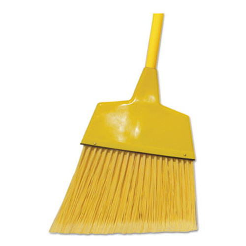 "Boardwalk Corn/Fiber Angled-Head Lobby Brooms, 42"", Yellow, 12/Carton (BWK BRMAXIL)"