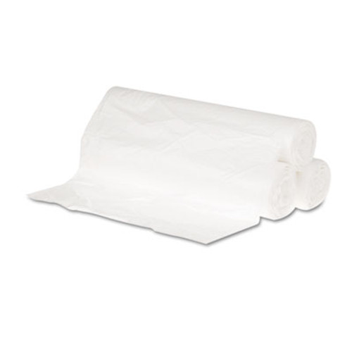 GEN High-Density Can Liner, 24x23, 10gal, 6 Mic Equiv., Natural, 50 Bag/RL, 20 RL/CT (GEN 242306)