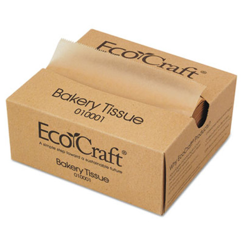 Bagcraft EcoCraft Interfolded Soy Wax Deli Sheets, 6 x 10 3/4, 1000/Box, 10 Boxes/Carton (BGC 010001)
