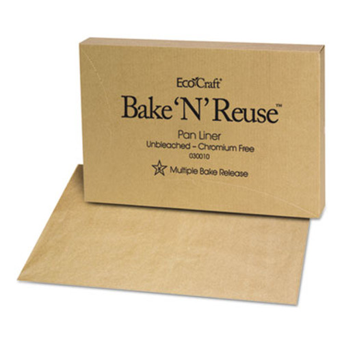 Bagcraft EcoCraft Bake 'N' Reuse Pan Liner, 16 3/8 x 24 3/8, 1000/Box (BGC 030010)