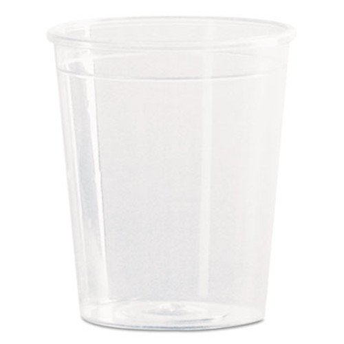 WN Comet Plastic Portion/Shot Glass, 2 oz., Clear, 50/Pack (WNA P20)
