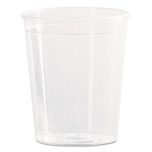 WN Comet Plastic Portion/Shot Glass, 2 oz., Clear, 50/Pack (WNA P20)
