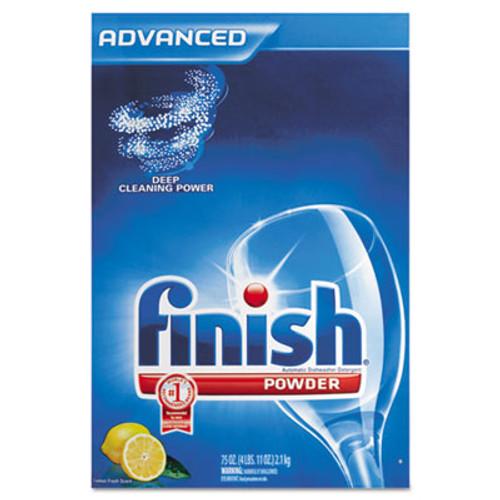 FINISH Automatic Dishwasher Detergent, Lemon Scent, Powder, 2.3 qt. Box (REC 78234)