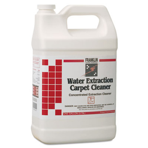 Franklin Cleaning Technology Water Extraction Carpet Cleaner, Floral Scent, Liquid, 1 gal. Bottle (FRK F534022)
