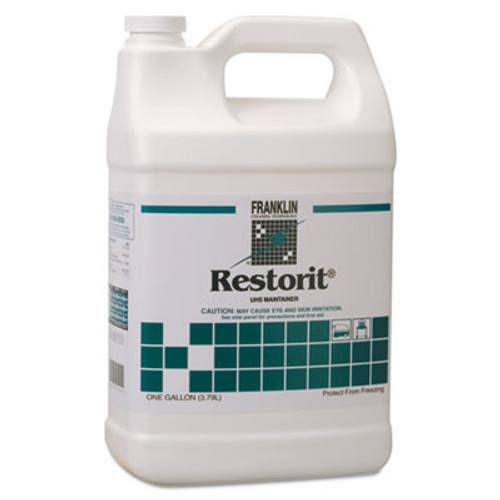 Franklin Cleaning Technology Restorit UHS Floor Maintainer, Liquid, 1 gal. Bottle (FRK F191022)