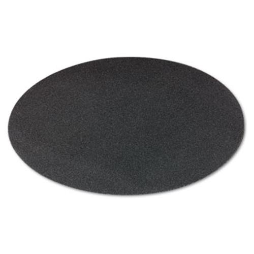 """Boardwalk Sanding Screens, 20"""" Diameter, 100 Grit, Black, 10/Carton (PAD 5020-100-10)"""