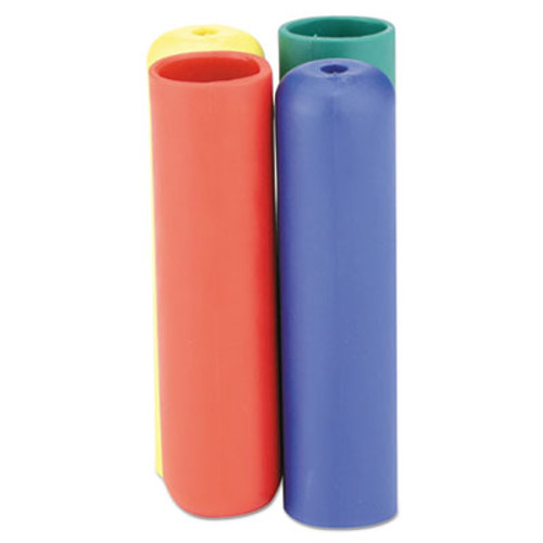 Rubbermaid HYGEN Color-Coded Wringer Handle Grip Kit, Blue-Green-Red-Yellow (RCP 1791801)