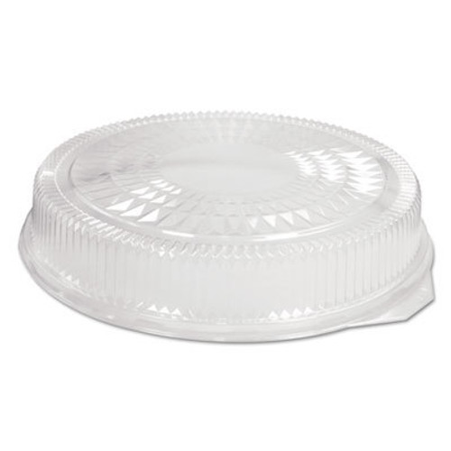 Handi-Foil of America Plastic Dome Lid, Round, Embossed, Clear, Fits 212/213, 25/Carton (HFA 2012DL)