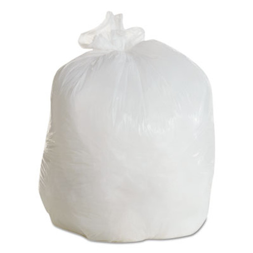 Boardwalk LD Can Liners, 20-30gal, .60mil, 30w x 36h, White, 25 Bags/Roll, 8 Rolls/CT (BWK 3036EXH)