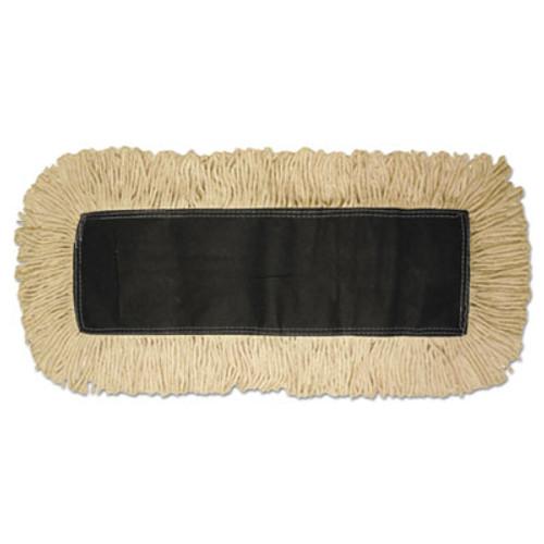 Boardwalk Disposable Dust Mop Head, Cotton, 18w x 5d (UNS 1618)