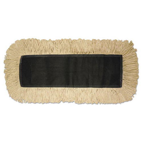 Boardwalk Disposable Dust Mop Head, Cotton, 18w x 5d (UNS 1618)