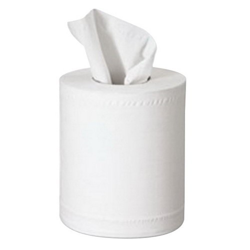 """Morcon Paper Center-Pull Roll Towels, 7 1/2 dia., 12"""" x 600 ft, White, 6 Rolls/Carton (MOR C6600)"""