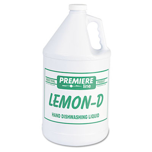 Kess Lemon-D Dishwashing Liquid, Lemon, 1gal, Bottle, 4/Carton (KES LEMON-D)