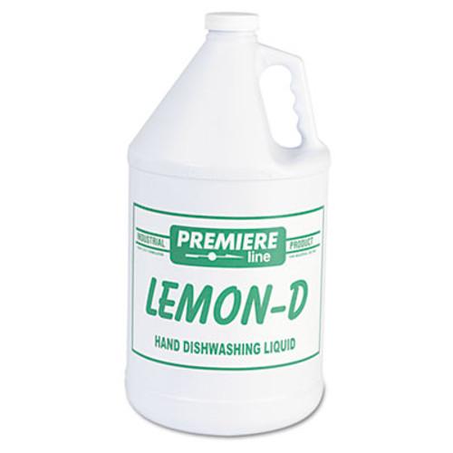 Kess Lemon-D Dishwashing Liquid, Lemon, 1gal, Bottle, 4/Carton (KES LEMON-D)