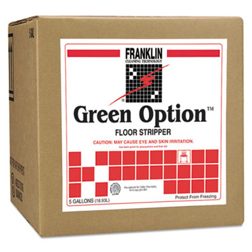 Franklin Cleaning Technology Green Option Floor Stripper, Liquid, 5 gal. Box (FRK F219025)