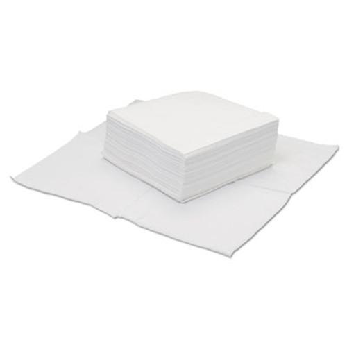 HOSPECO TaskBrand Four-Ply Scrim Wipers, Quarterfold, 12x12 White 50/BG 18BG/CT (HOS GS-C4300)