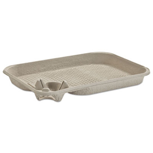 Chinet StrongHolder Molded Fiber Cup/Food Tray, 8-22oz, One Cup, 200/Carton (HUH FOCUS)