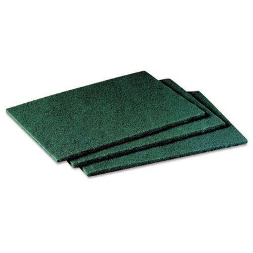 Scotch-Brite PROFESSIONAL General Purpose Scrub Pad, 3 x 4 1/2, Green, 40 per Box/2 Boxes per Carton (MCO 59166)