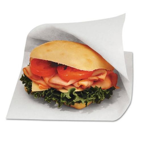 Bagcraft Dubl Open Grease-Resistant Sandwich Bags, 6w x 3/4 x 6 1/2h, White, 8000/Carton (BGC 300421)