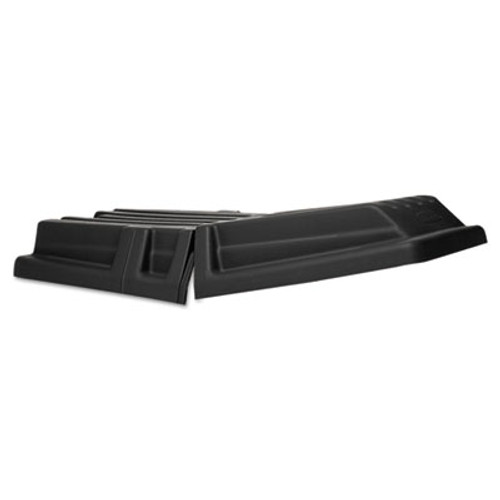 Rubbermaid Hinged Tilt Truck Lid, Rectangular, 28 1/2 x 56 1/2 x 9, Black (RCP 1307 BLA)