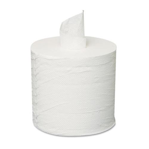 GEN Centerpull Towels, 2-Ply, White, 600 Roll, 6 Rolls/Carton (GEN 203)