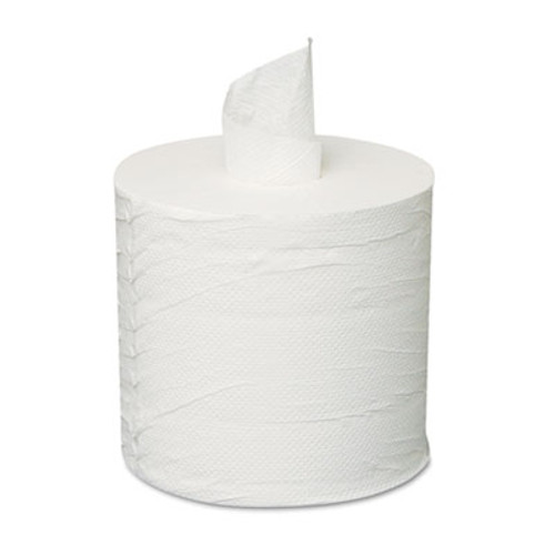 General Supply Centerpull Towels, 2-Ply, White, 6 Rolls/Carton (GEN 203)