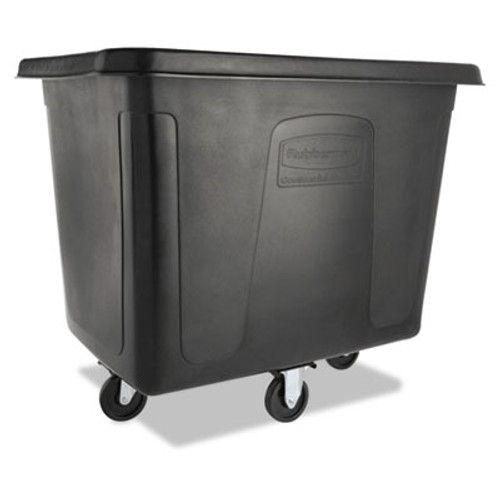 Rubbermaid Cube Truck, 500 lbs Cap, Black (RCP 4616 BLA)