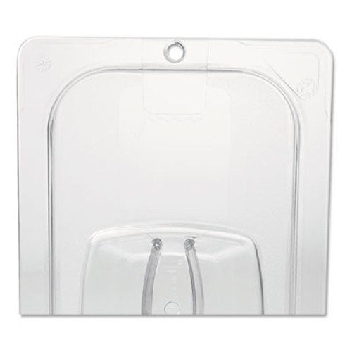 Rubbermaid Cold Food Pan Covers, 6 3/8w x 6 7/8d, Clear (RCP 108P-23 CLE)