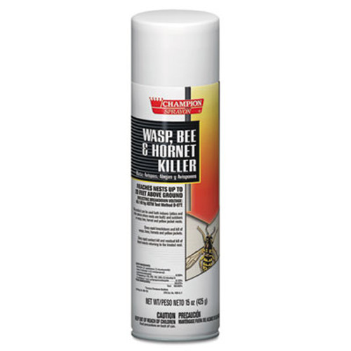 Chase Products Champion Sprayon Wasp, Bee & Hornet Killer, 15oz, Can, 12/Carton (CHA 5108)