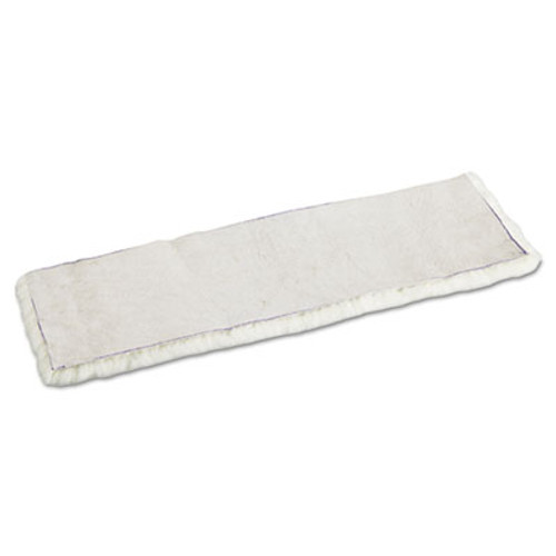 Boardwalk Mop Head, Applicator Refill Pad, Lambswool, 18-Inch, White (UNS 4518)