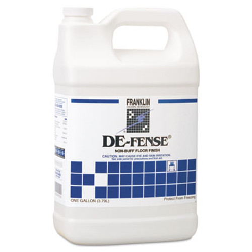 Franklin Cleaning Technology DE-FENSE Non-Buff Floor Finish, Liquid, 1 gal. Bottle (FRK F135022)