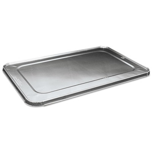 Boardwalk Full Size Steam Table Pan Lid For Deep Pans, Aluminum, 50/Case (BWK LIDSTEAMFL)