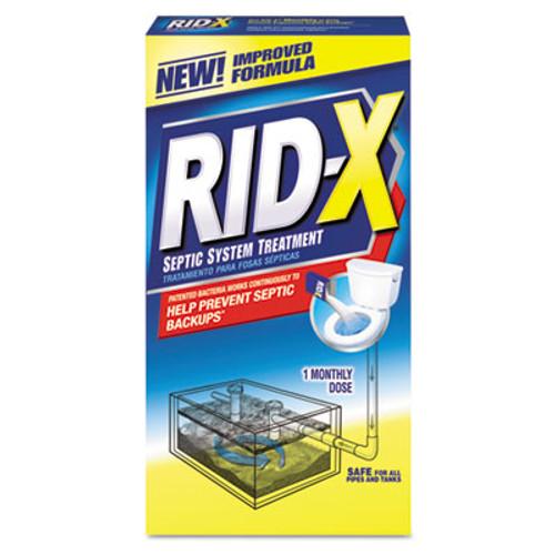 RID-X Septic System Treatment Concentrated Powder, 9.8 oz, 12/Carton (REC 80306)