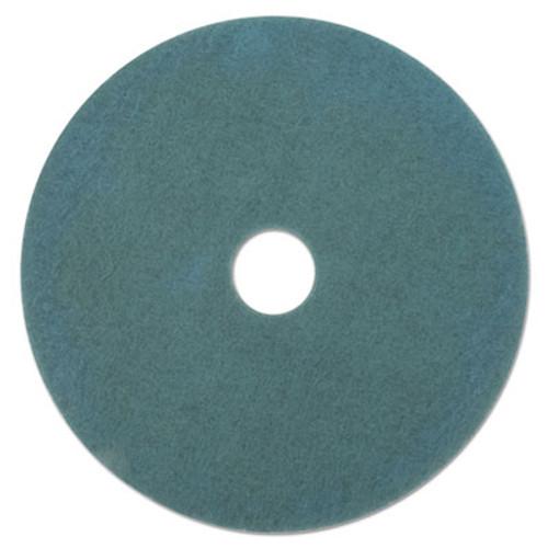 Boardwalk Ultra High-Speed High Burnish Floor Pads, 19-Inch, Aqua, 5/Carton (PAD 4019 AQU)